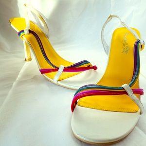 Sketchers Rainbow High Heel Shoes size 8